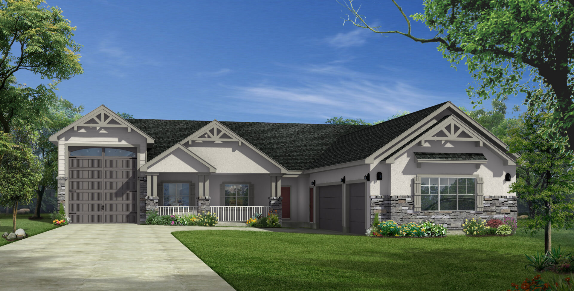 Black forest Rendering with RV_exterior